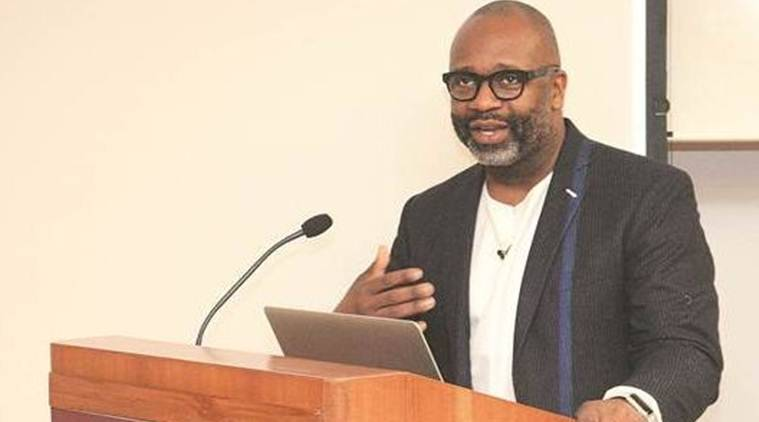 Theaster Gates, chicago-based artist, uchicago center in delhi, art, poetic solutions, indian express, express online