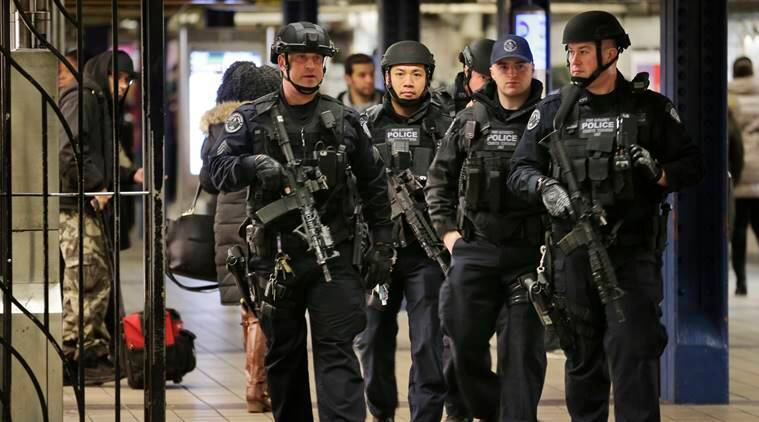 Image result for New York to adapt New Year's Eve security after botched suicide bomb