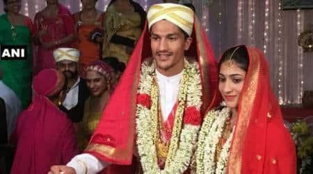 Ashwini Ponnappa-Karan Medappa marriage
