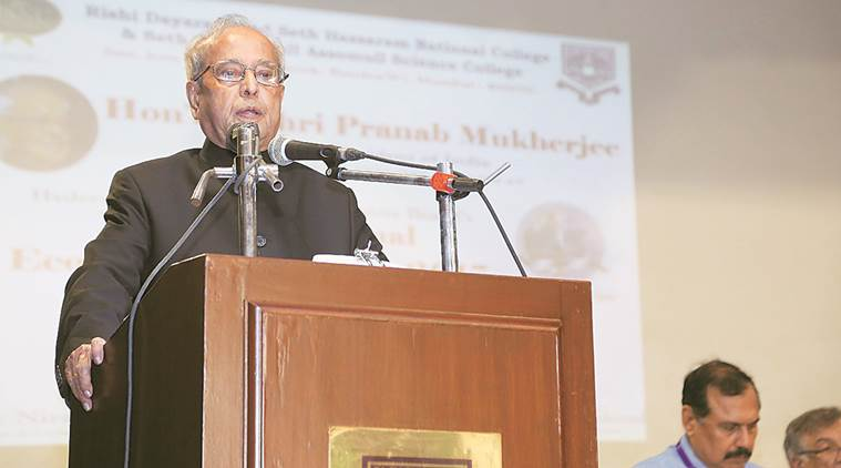 We must have economic growth with jobs: Pranab Mukherjee