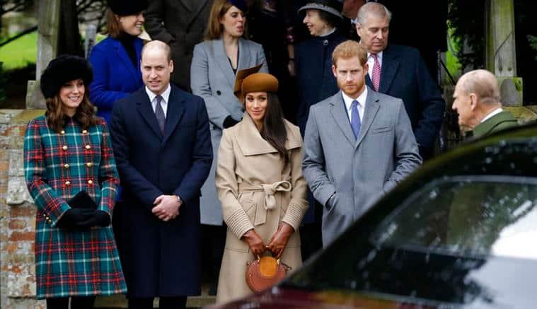 Kate Middleton, Meghan Markle, Prince Harry, Prince William, Meghan Markle Prince Harry wedding, Duke of Cambridge, Duchess of Cambridge, Jason Wu, Seraphine, Royal Foundation Forum, celeb fashion, hollywood fashion, indian express, indian express news