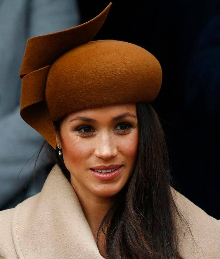 meghan markle prince harry christmas dinner photos