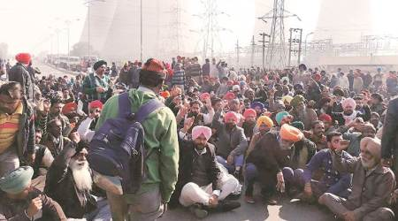 Thermal pant closure: Employees block Bathinda state highway, to hold gate rally today