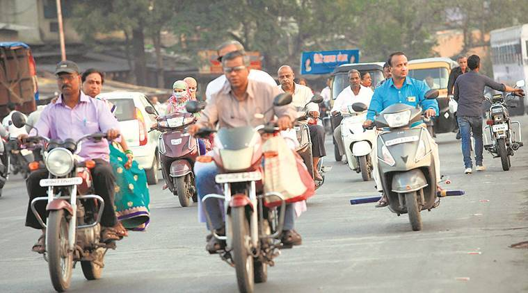 Bhopal MP Alok Sanjar pays fine for helmet-less motorcycle ride