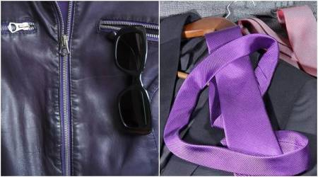 Ultra-violet hues: Trending colour code for men