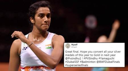 'Lost the match but won many hearts again:' Twitterati laud PV Sindhu for silver at Superseries Final 2017