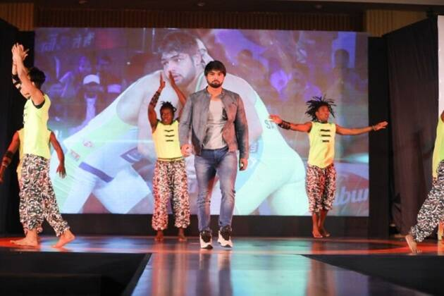 satyawart kadian at pro wrestling league 3 launch