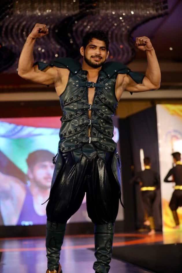 pawan saroha at pro wrestling league 3 launch