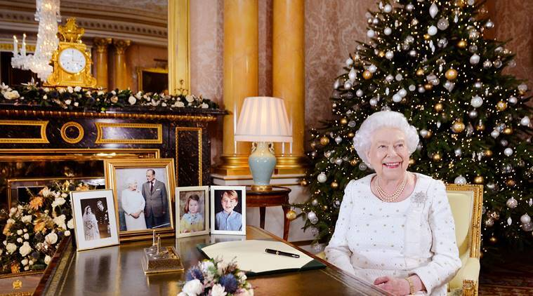 United Kingdom  queen laments terror attacks in Christmas message