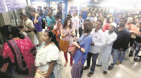 Twelve train ticket checkers have an uphill task on Mumbai AC local train