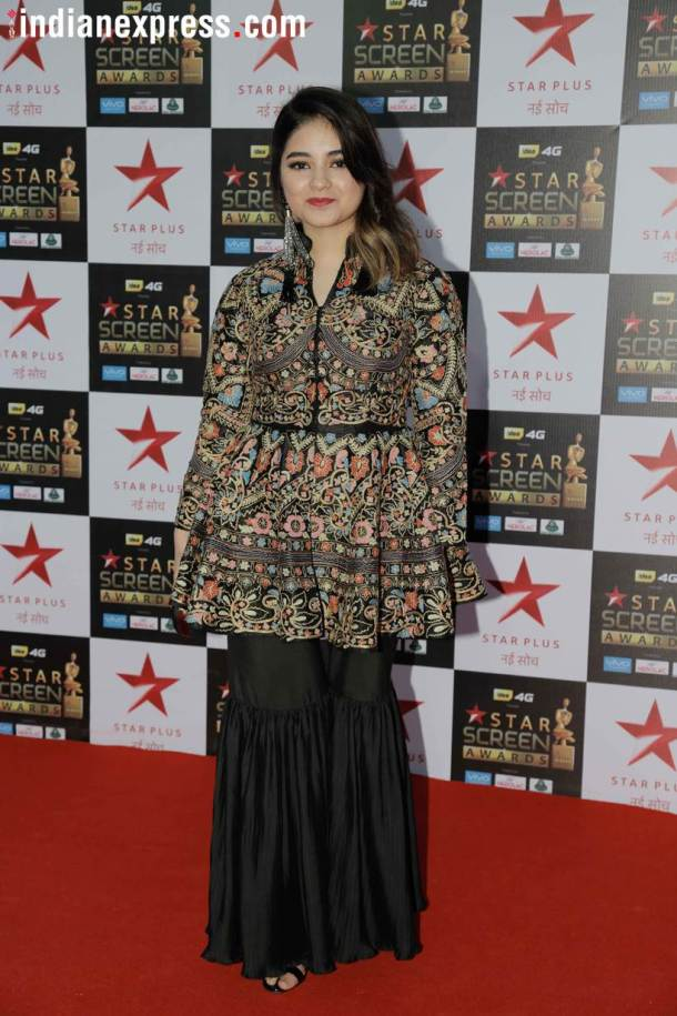 Zaira Wasim star screen awards