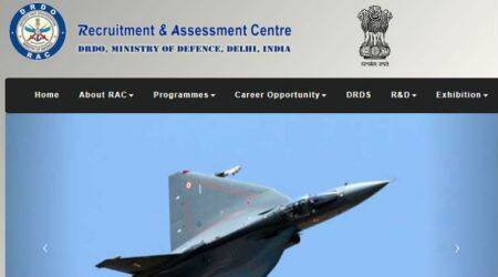 DRDO recruitment 2017, drdo, drdo.gov.in
