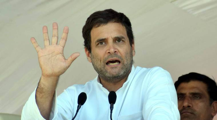 Rahul Gandhi election campaign in Gujarat
