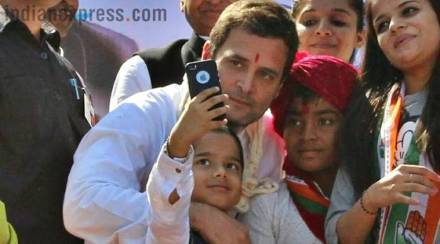 Rahul's selfie moment, Modi's seaplane ride: Gujarat assembly election's defining pictures