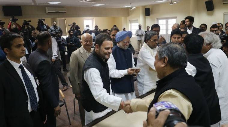 Image result for Congress president election LIVE Updates: Rahul Gandhi files nomination,