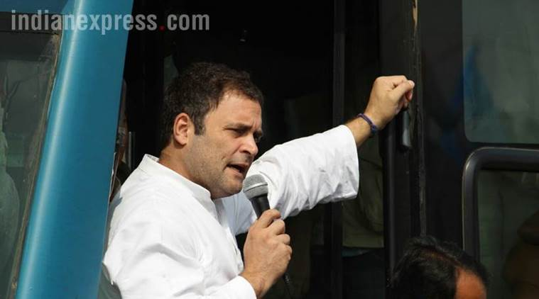 Modi calls himself common man but hugs only special ones: Rahul