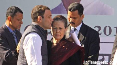 Sonia Gandhi says attacks have made son Rahul brave