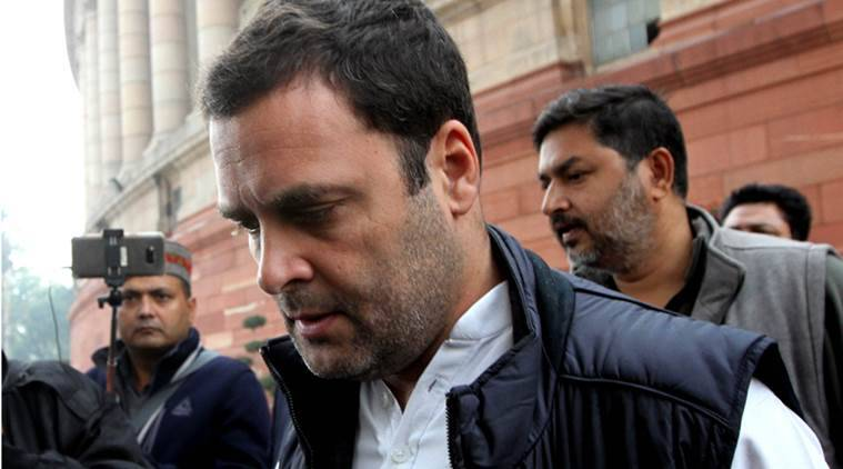 BJP seeks apology from Rahul for anti-Modi poster