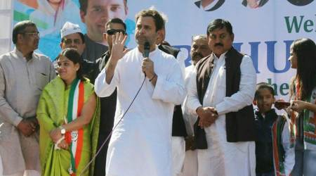 Gujarat elections: Amit Shah turns remote, Vijay Rupani jumps, says Rahul Gandhi