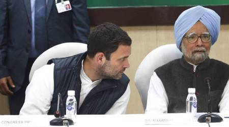Manmohan Singh, Congress, Rahul Gandhi, CWC meet, Congress Working Committee meeting, 2019 Elections, Congress campaign, Indian Express