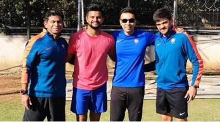 Suresh Raina at NCA