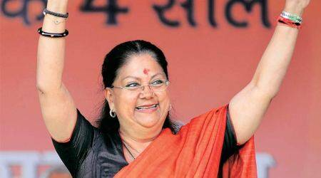 Vasundhara Raje should vacate government bungalow, demands rebel BJP MLA