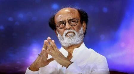 Rajinikanth meets DMK supremo Karunanidhi, seeks his blessings