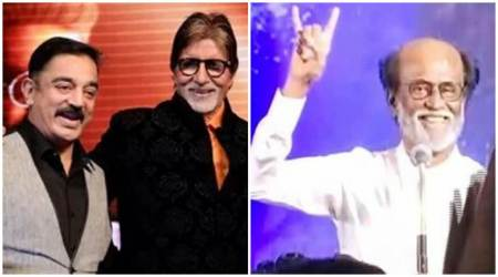 Rajinikanth enters politics: Amitabh Bachchan to Kamal Haasan, film industry shares their best wishes