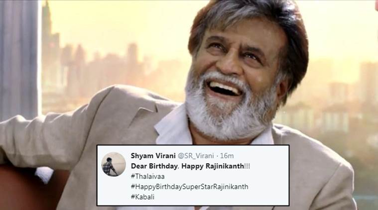 Rajinikanths Birthday Twitterati Come Up With Hilarious Wishes For