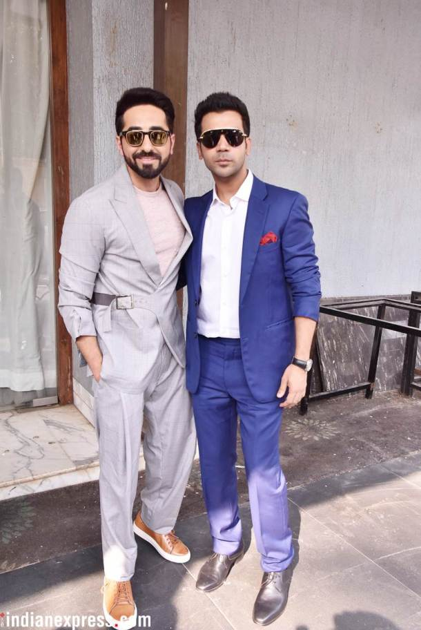 rajkummar rao ayushmann khurrana worked together in Bareilly Ki Barfi