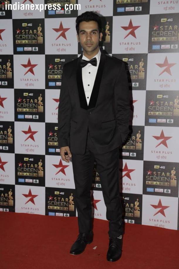 rajkummar rao at star screen awards