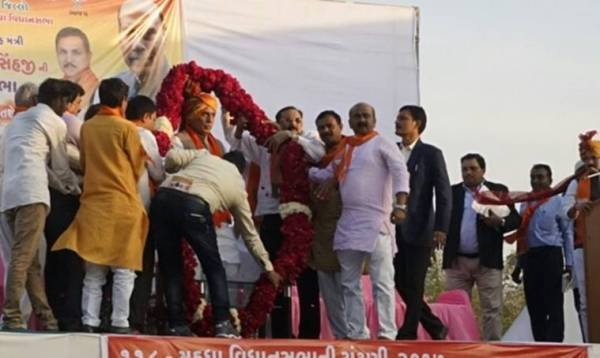rajnath singh in Gujarat Mahuda Assembly Constituency