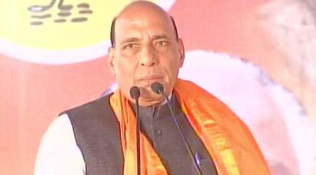 Rajnath Singh accuses Karnataka govt of communally polarising State
