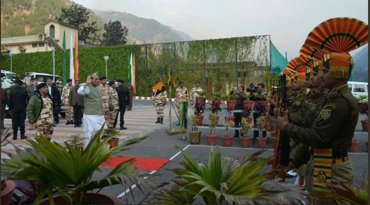 Rajnath visits forward areas of Himalayan borders
