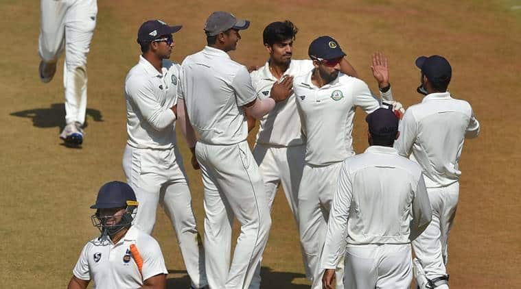 Ranji Trophy 2017 Final, Delhi vs Vidarbha, Rajneesh Gurbani, Gurbani, Ranji final, Cricket news, Indian express