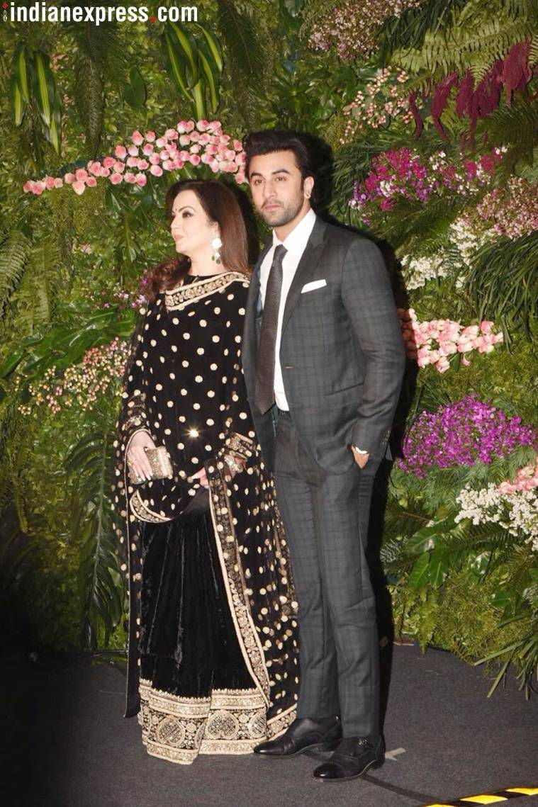 Ranbir Kapoor and Neeta Ambani