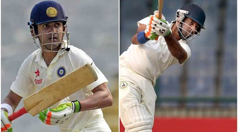 Ranji Trophy 2017, Gautam Gambhir, Delhi vs Vidarbha, Faiz Fazal, Mayank Agarwal, Bengal, Karnataka, sports news, cricket, Indian Express