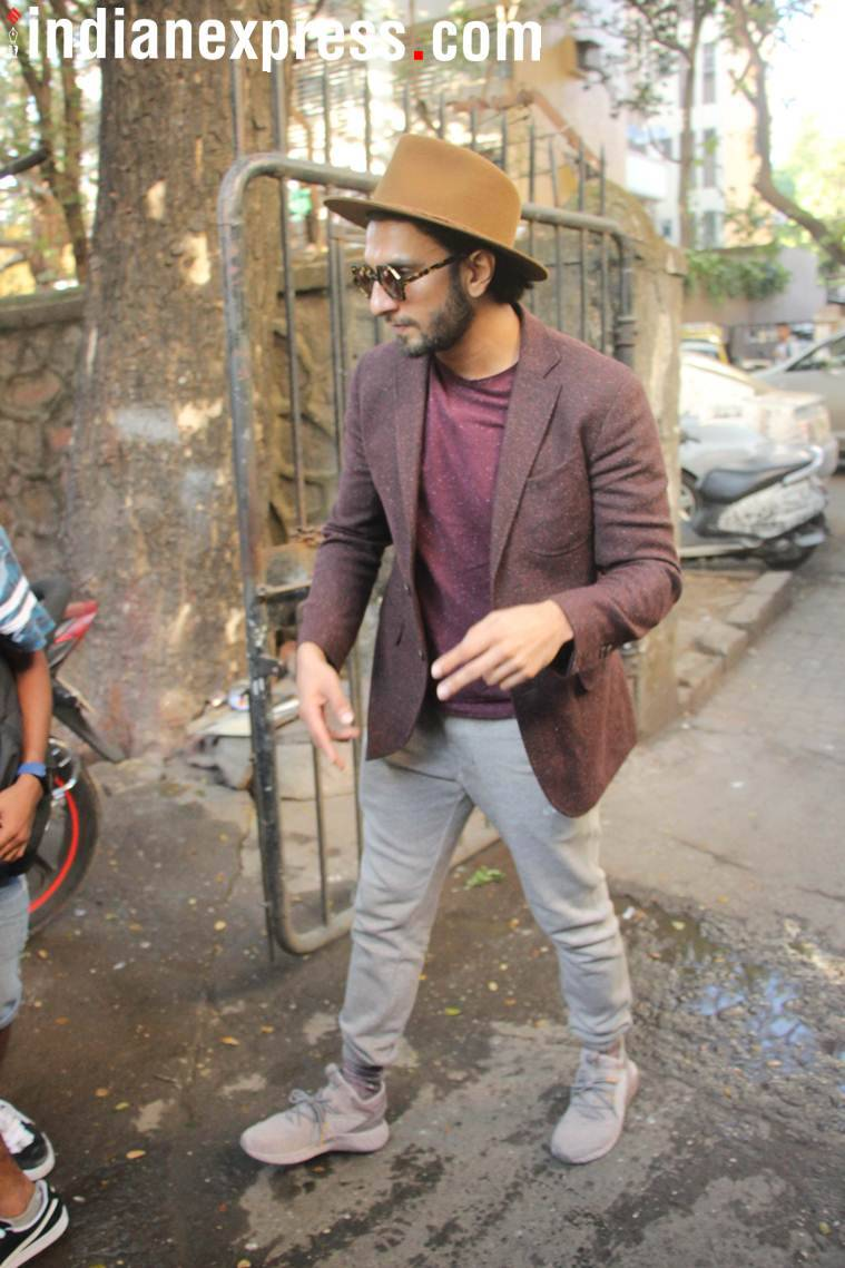 ranveer singh attend rapping workshop for gully boy