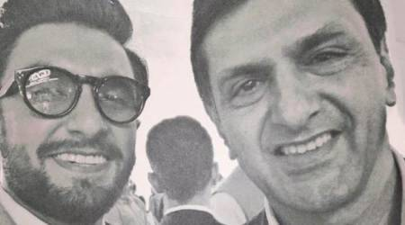 Ranveer Singh shares a perfect click with Deepika Padukone's father Prakash Padukone, see photo