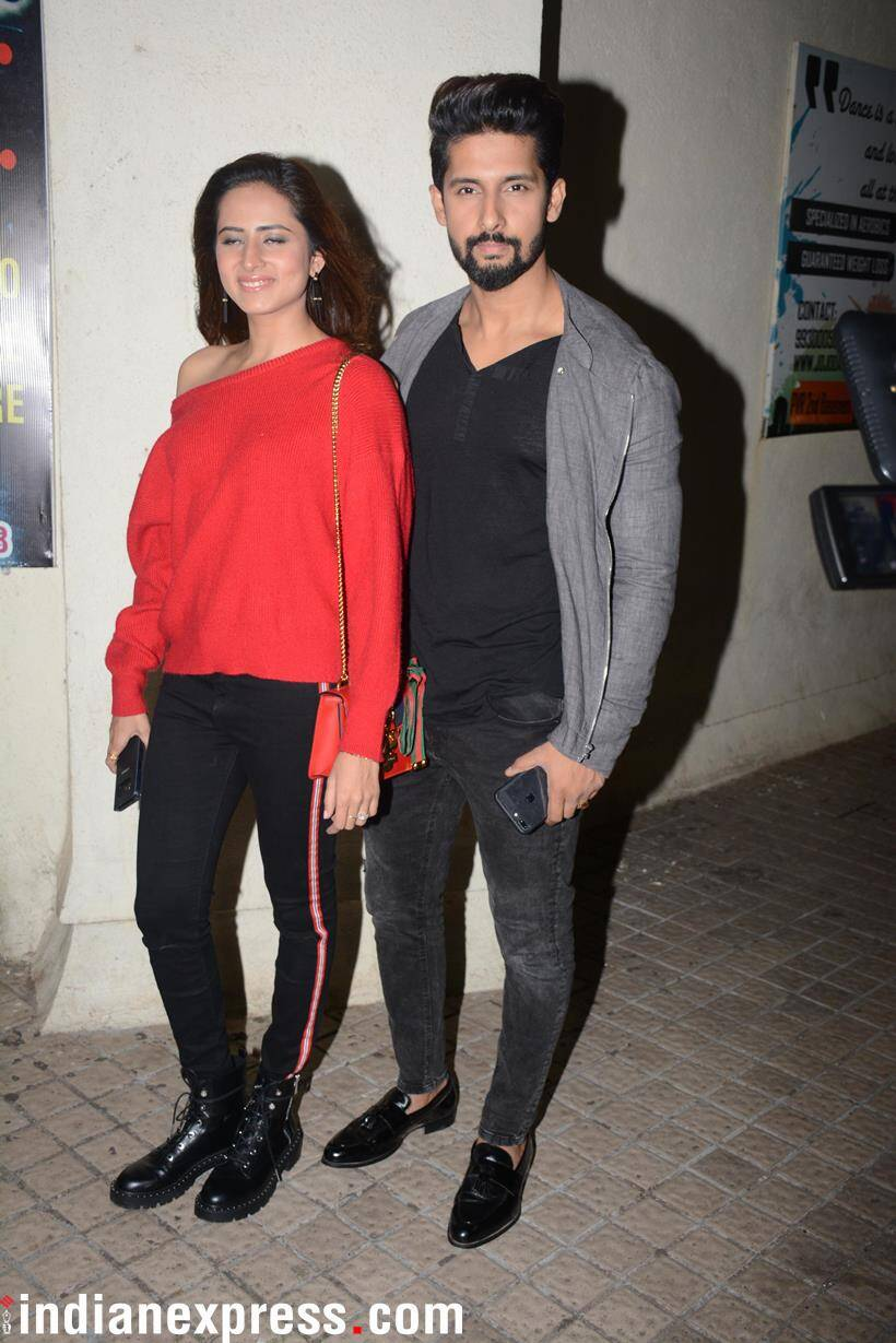 s Ravi Dubey and Sargun Mehta attended the event.