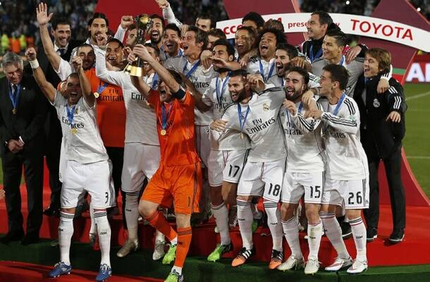 Real Madrid won the Club World Cup in 2014