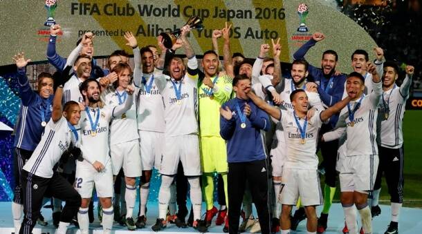 Real Madrid won the Club World Cup in 2016