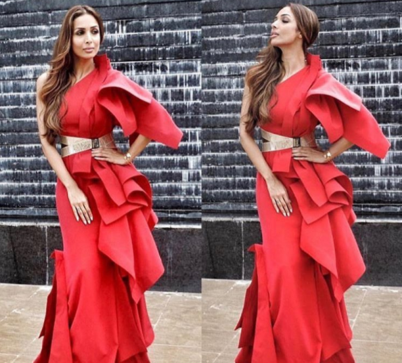 Red outfits on red carpet, red gowns, Aishwarya Rai Bachchan, Kareena Kapoor Khan, Katrina Kaif, Deepika Padukone, Deepika Padukone latest photos, Kangana Ranaut, Alia Bhatt, Anushka Sharma Virat Kohli