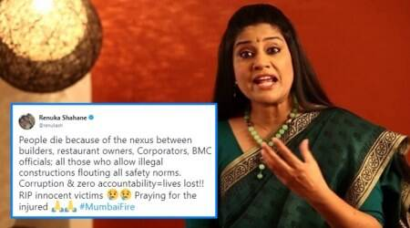 Renuka Shahane slams authority for Kamala Mills fire, calls out illegal construction, bribe and corruption