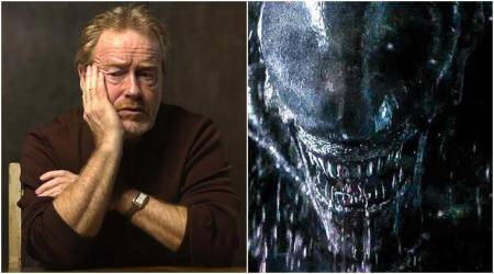 ridley scott working on another alien film