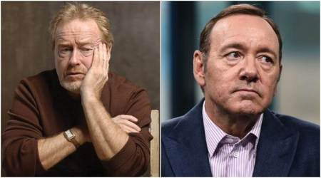 Ridley Scott hasn't heard from Kevin Spacey after filmreplacement