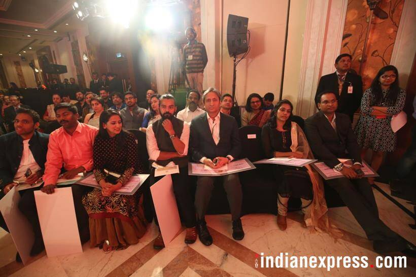 Ramnath Goenka Excellence in Journalism Awards, Ramnath Goenka Awards, journalism awards, Venkaiah Naidu, Vice President Naidu, Express group, Ramnath Goenka, RNG awards, RNG awards photos, Indian Express