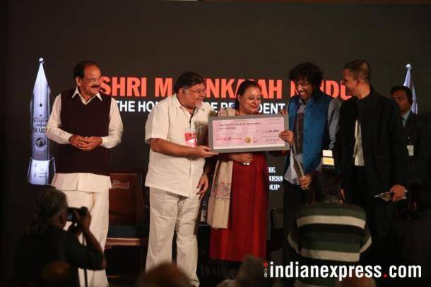 Ramnath Goenka Excellence in Journalism Awards, Ramnath Goenka Awards, journalism awards, Venkaiah Naidu, Vice President Naidu, Express group, Ramnath Goenka, RNG awards, RNG awards photos, Indian Express