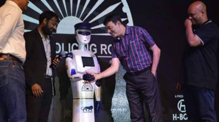 Hyderabad-based startup launches smart 'robocop', named after 26/11 martyr Hemant Karkare