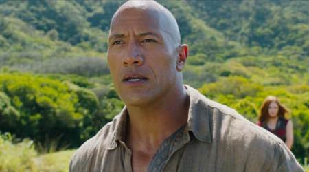 Jumanji Welcome To The Jungle actor Dwayne Johnson is 'blown away' by reactions to thefilm